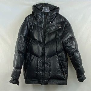 Billabong Sorient Series Black Puffer Jacket - L